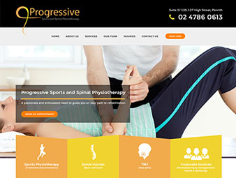 Progressive Sports and Spinal Physiotherapy