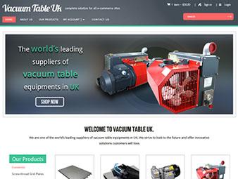 Vacuum Table UK