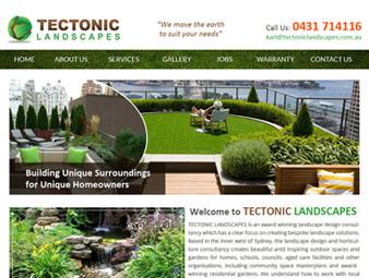 Tectonic Landscapes