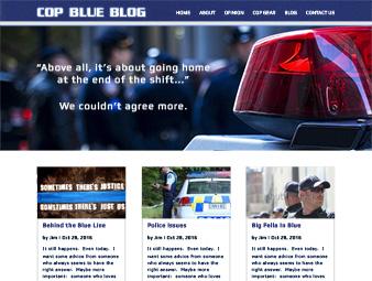 Cop Blue Blog